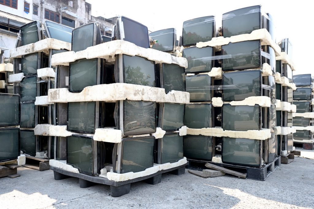 Abandoned CRTs Fill Facility Lots Across the Country