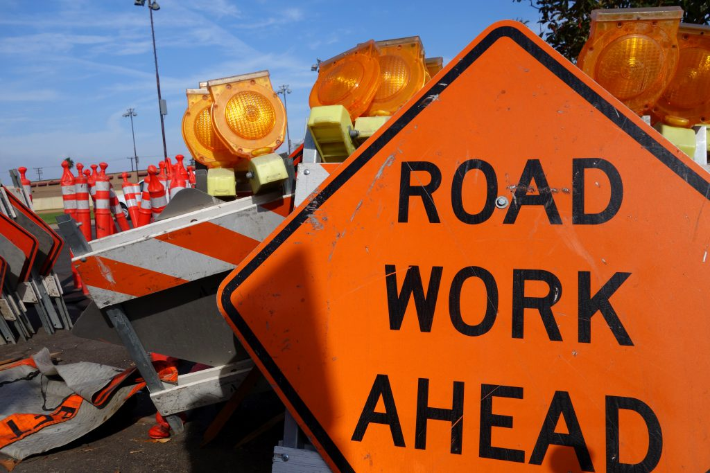 Wet Weather and Roadside Work Zone Safety