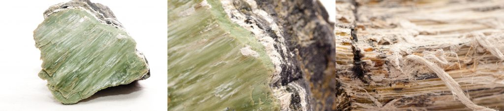 Asbestos-Containing Serpentinite Rock