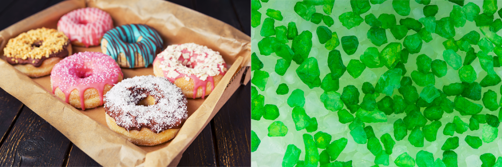 Doughnuts and cat litter can be confused for meth by field tests