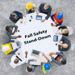 Take a Break to Discuss Fall Safety with All Personnel: Employers, Employees, Contractors, Architects, Engineers, Owners, Etc.