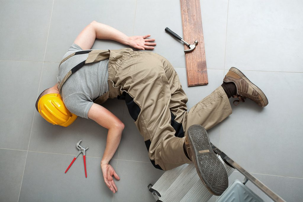 Many Workplace Injuries Fall Related
