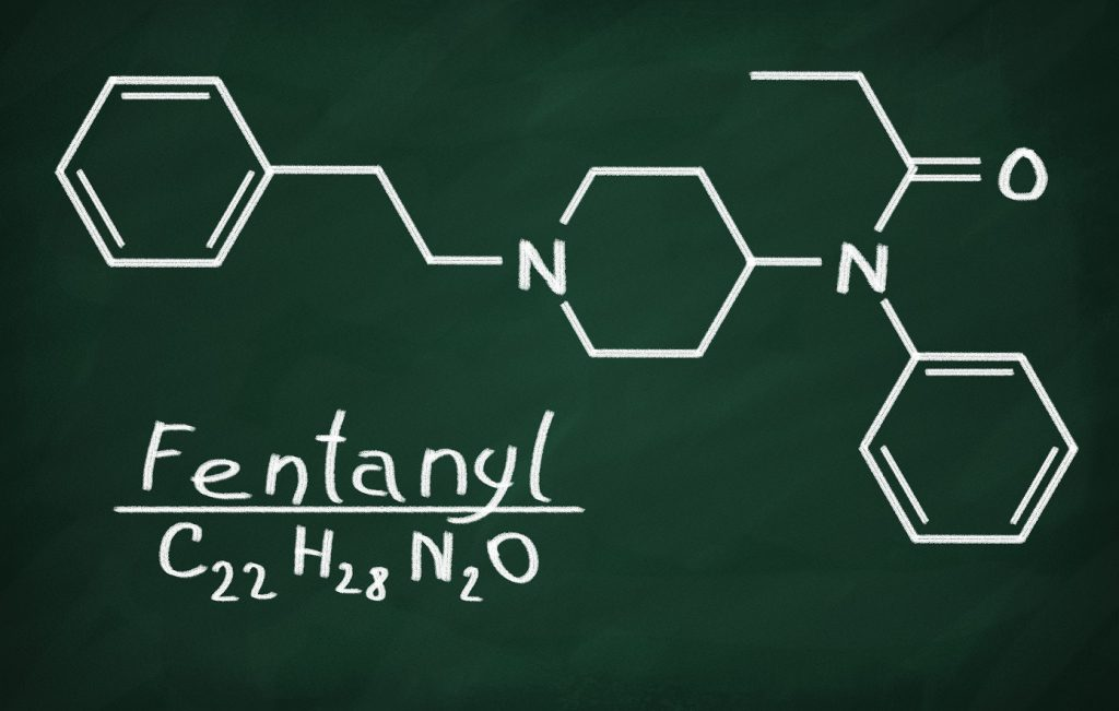 Molecular Structure of Fentanyl