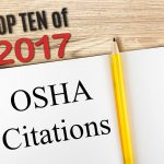 OSHA's Top 10 List of Citations for 2017