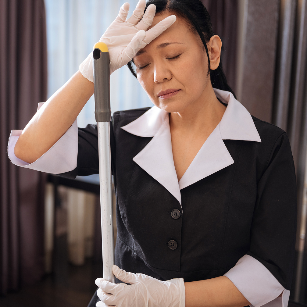 Preventing Musculoskeletal Hotel Housekeeping Injuries