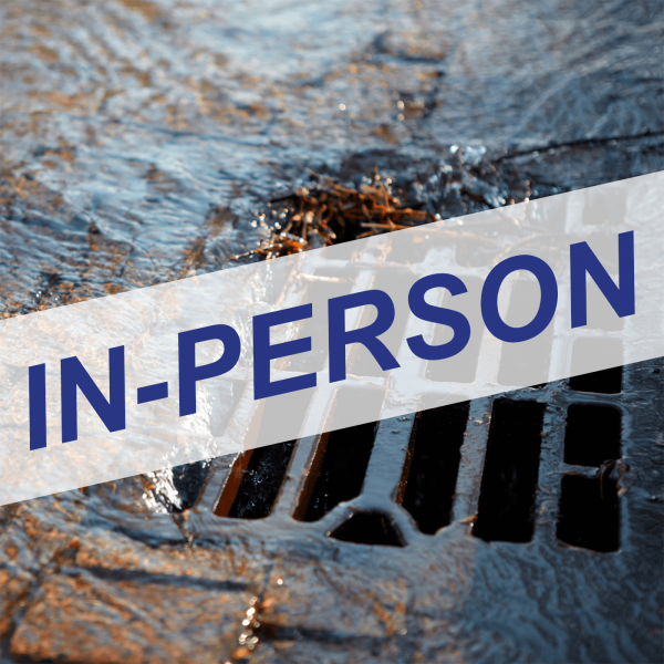 Qualified Industrial Storm Water Practitioner (QISP) In-Person