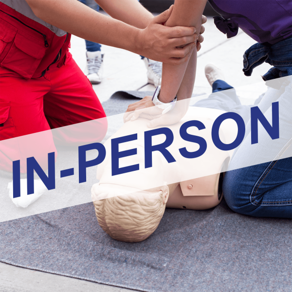 Standard First Aid, CPR & AED In-Person