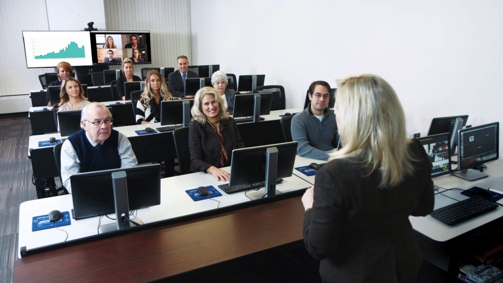 Virtual training provides an engaging learning experience for both in-class and remote participants.